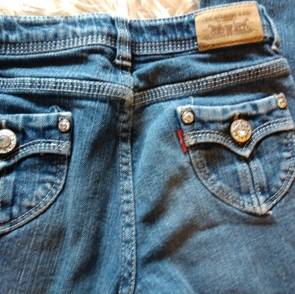 Levi's Other - Levi's bling jeans slim size 14